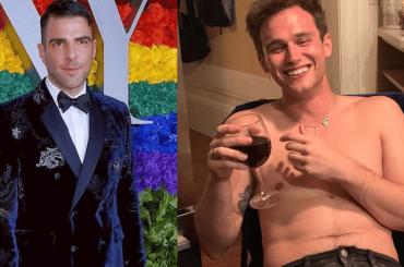 Zachary Quinto e Brandon Flynn pizzicati insieme, è nato un amore?