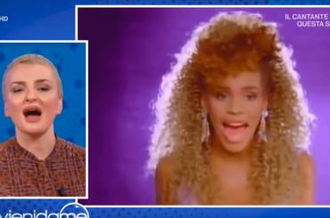 Arisa canta Mariah Carey, Whitney e Celine Dion a Vieni da Me – video