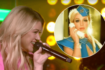 "Kelly Clarkson canta ""Toxic"" di Britney Spears – video"
