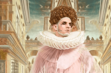 Sanremo 2020, Achille Lauro è la regina Elisabetta 1 Tudor – foto