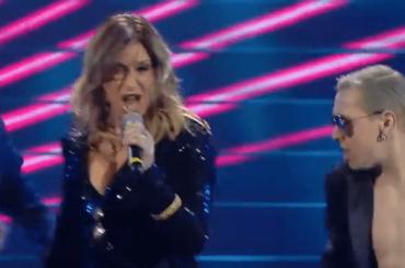 Sanremo 2020, Sabrina Salerno da urlo con Boys Boys Boys – video
