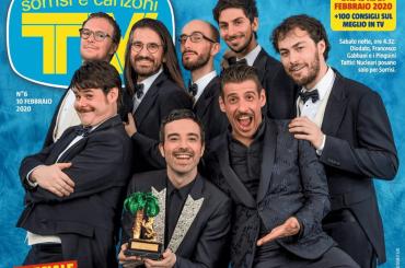 Sanremo 2020, la copertina finale di Tv Sorrisi e Canzoni