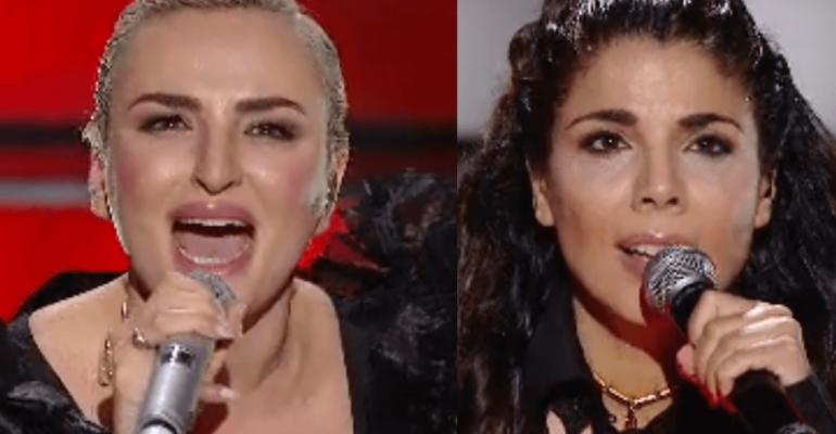 Arisa e Mietta cantano MINA, i video di Ancora Ancora Ancora e Io e te da Soli