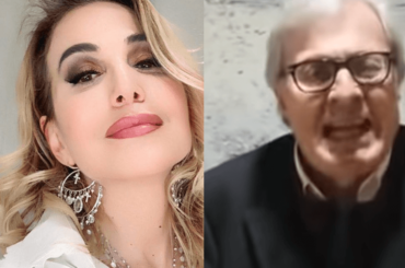 """Vittorio Sgarbi vs. Barbara D'Urso: """"Ti denuncio, impara l'italiano e a fare la conduttrice"""" – video"""