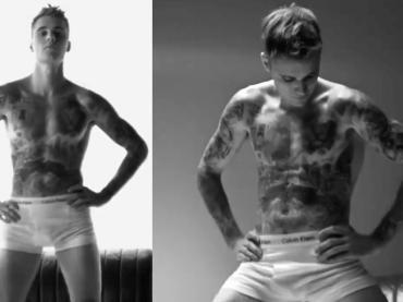Justin Bieber, è pacco Calvin Klein – il video dalla campagna