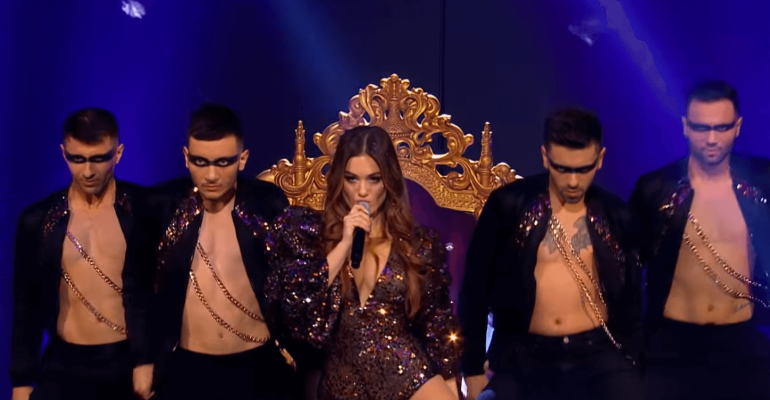 Eurovision, Armenia pop con Athina Manoukian e  la sua Chains on You – video
