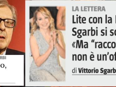 Vittorio Sgarbi chiede scusa a Barbara D'Urso (e domenica sarà a Live)