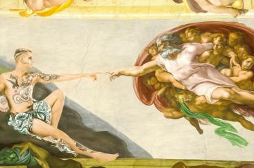 """Achille Lauro come la Creazione: """"la folle dedizione premia, PERSEVERARE è DETERMINANTE"""""""