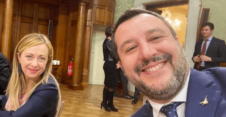 Matteo Salvini, Giorgia Meloni e l'infinita quantità di fregnacce sul Coronavirus – video