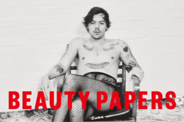 Harry Styles in calze a rete per Beauty Papers Magazine, video