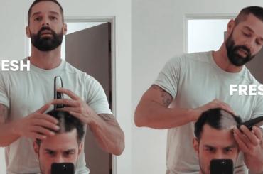 Ricky Martin rapa a zero il marito Jwan Yosef, il video