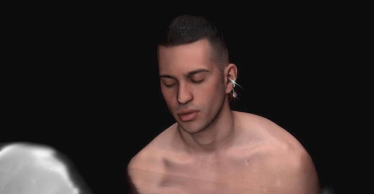 Mahmood canta Eternantena, video