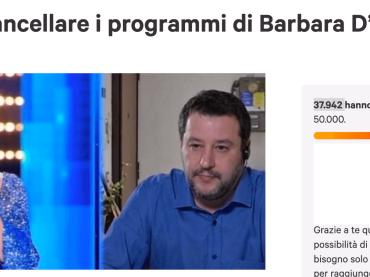 """""""Cancellare i programmi di Barbara D'Urso"""", petizione on line boom: già 40.000 firme"""