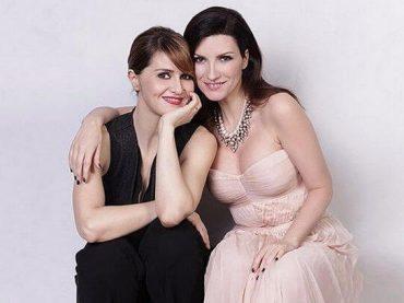Laura Pausini e Paola Cortellesi di nuovo insieme, diretta Instagram mercoledì 1 aprile