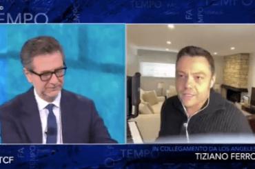 """Tiziano Ferro chiede chiarezza al Governo sui concerti: """"non sappiamo nulla, ci dia risposte"""" – video"""