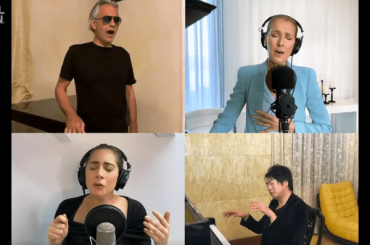 Together at Home, ecco THE PRAYER cantata da Lady Gaga, Celine Dion e Andrea Bocelli – VIDEO