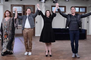 Will and Grace è finito, il video celebrativo dall'ultimo giorno di set