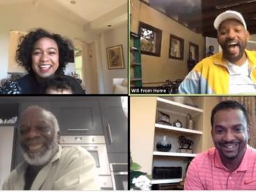 Willy il Principe di Bel Air, reunion web del cast originale – video