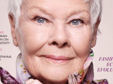 Judi Dench nella storia di Vogue, è la persona più anziana di sempre a finire in copertina