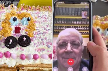 """Fedez prepara torta a Chiara Ferragni e Iginio Massari in videochiamata è categorico: """"Ma vuoi separarti?"""" – video"""