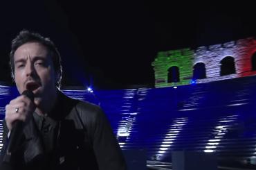 Eurovision 2020, fantastico Diodato dall'Arena di Verona – il video