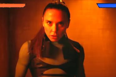 Melanie C è una picchiaduro in un videogioco nel video ufficiale di Blame it On Me