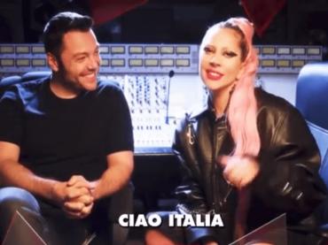 Tiziano Ferro intervista Lady Gaga per RLT 102.5, il video completo di 15 minuti