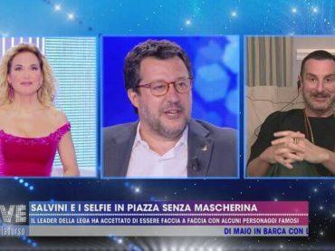 Costantino della Gherardesca incensa Barbara d'Urso e attacca i giornalisti che la criticano