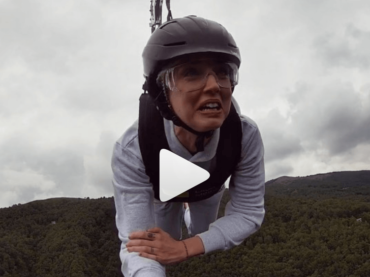 Chiara Ferragni si lancia con la teleferica sul Lago Maggiore, il video social