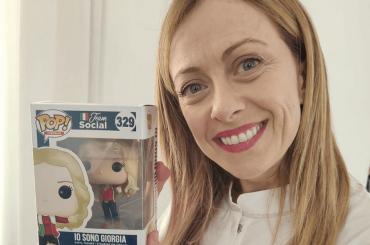Giorgia Meloni diventa bambola Funko Pop
