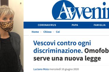 Persino Avvenire zittisce Costanza Miriano sulla legge contro l'Omotransfobia