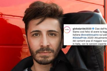 """Global Pride 2020, l'annuncio: """"ci sarà anche la leggenda italiana Osvaldo Supino"""""""