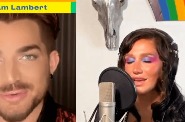 "Global Pride 2020, i live di Kesha e Adam Lambert con ""Rainbow"" e ""Mad World"" – video"