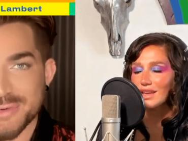 """Global Pride 2020, i live di Kesha e Adam Lambert con """"Rainbow"""" e """"Mad World"""" – video"""