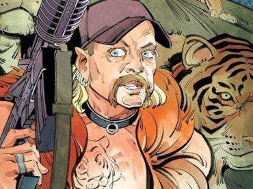 Tiger King, arriva anche il fumetto – la copertina
