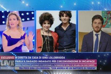 Gina Lollobrigida, rinviato a giudizio Andrea Piazzolla con l'accusa di circonvenzione di incapace