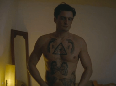 Orlando Bloom nudo in Retaliation, le foto