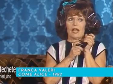 100 anni di Franca Valeri, stasera puntatone speciale Techetechetè – lo spot