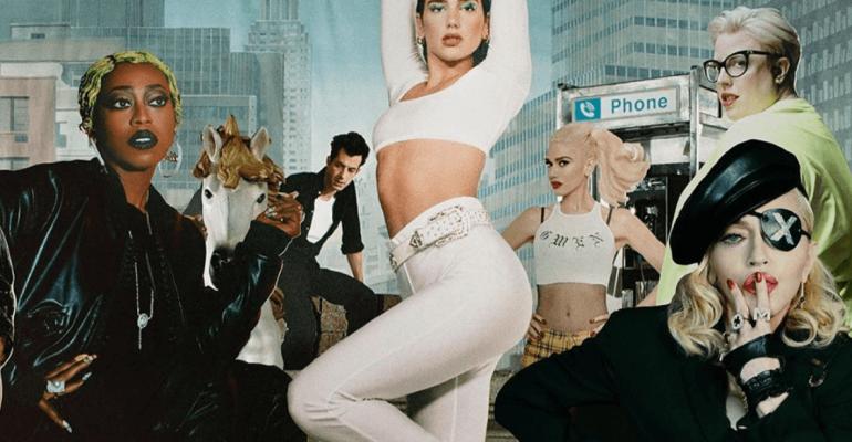 Levitating feat. Madonna e Missy Elliott per DUA LIPA, ecco il REMIX – audio