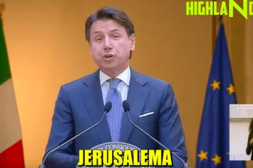 GIUSEPPE CONTE canta JERUSALEMA – il video di HIGHLANDER DJ