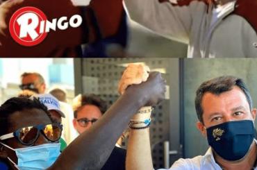 """Salvini fa propaganda con il marchio Ringo e Barilla si dissocia: """"MAI AUTORIZZATO"""""""