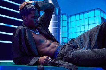 Rihanna lancia la nuova linea di intimo maschile – le foto con King Combs modello