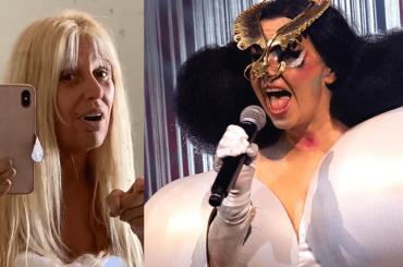 GF Vip, Maria Teresa Ruta come Bjork: il video è un capolavoro