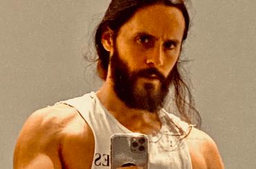 Jared Leto mette i muscoli per Tron 3, la foto social