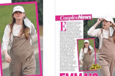Emma Stone è incinta? Le foto