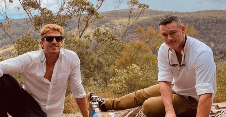 Luke Evans e Rafa Olarra, vacanza d'amore in Australia – le foto social