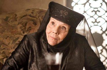 """Addio a Diana Rigg,  è morta la """"Regina di Spine"""" Olenna Tyrell di Game of Thrones"""