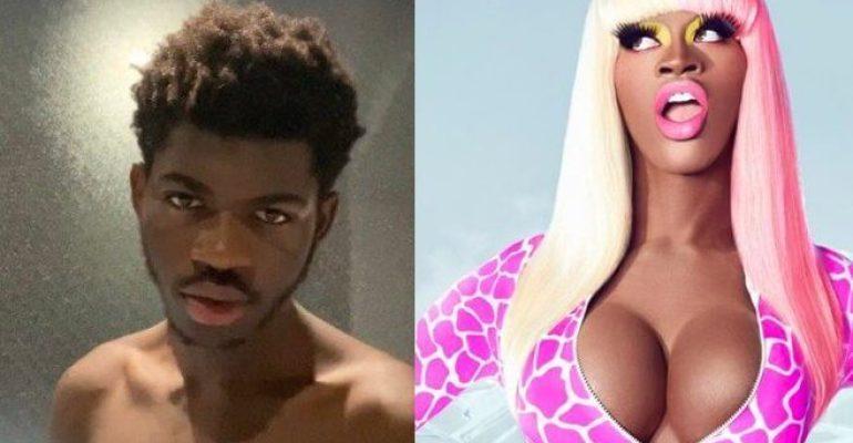 Halloween 2020,  Lil Nas X diventa Nicki Minaj – le foto social