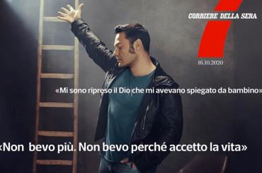 """Tiziano Ferro: """"Sono stato alcolista, volevo morire"""""""