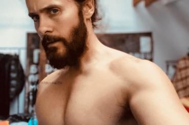 Jared Leto, fisico da urlo su Instagram – la foto